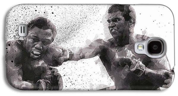 Muhammad Ali Vs Joe Frazier Galaxy S4 Case by Daniel Hagerman