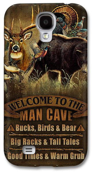 Multi Specie Man Cave Galaxy S4 Case by JQ Licensing