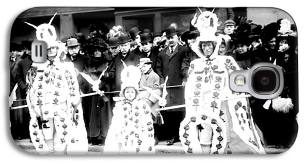 Mummers Circa 1909 Galaxy S4 Case by Bill Cannon