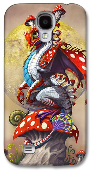 Vegetables Galaxy S4 Case - Mushroom Dragon by Stanley Morrison