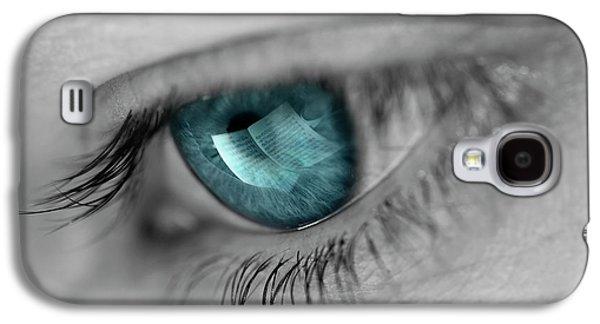 Music In Her Eyes Galaxy S4 Case