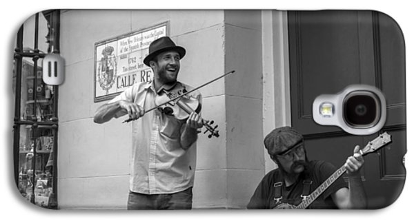 Music In The French Quarter Galaxy S4 Case by David Morefield