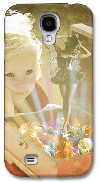 Musicbox Magic Galaxy S4 Case by Linda Lees