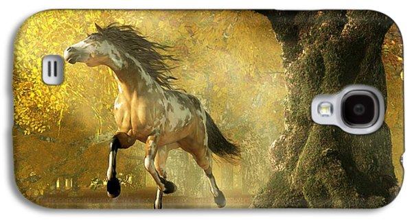 Mustang Autumn Galaxy S4 Case