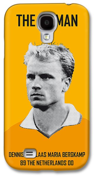 My Bergkamp Soccer Legend Poster Galaxy S4 Case