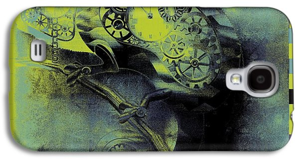 Chameleon - Lime - 01b02 Galaxy S4 Case
