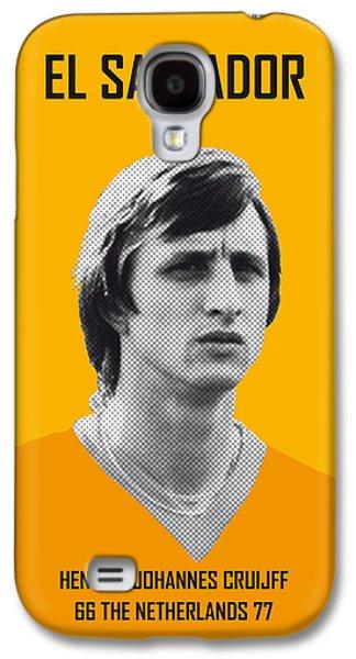 My Cruijff Soccer Legend Poster Galaxy S4 Case