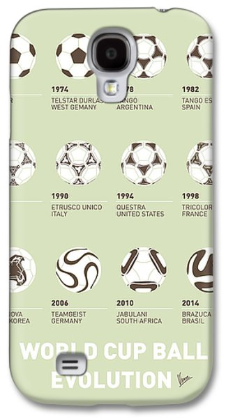 My Evolution Soccer Ball Minimal Poster Galaxy S4 Case