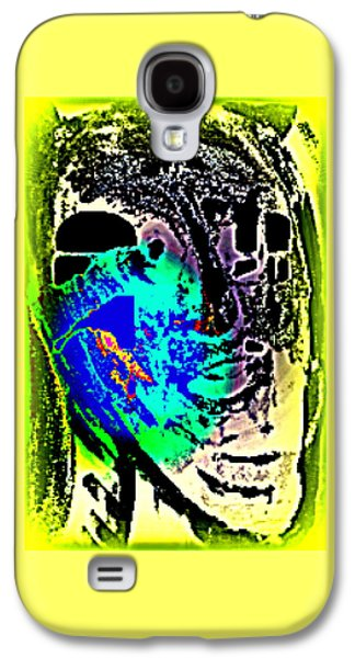 my ghost is my guest and I need nobody else  Galaxy S4 Case