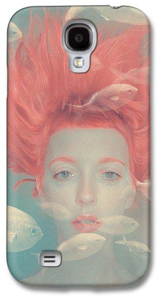 My Imaginary Fishes Galaxy S4 Case by Anka Zhuravleva