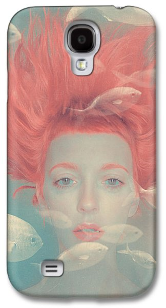 Surrealism Galaxy S4 Case - My Imaginary Fishes by Anka Zhuravleva