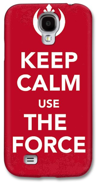 My Keep Calm Star Wars - Rebel Alliance-poster Galaxy S4 Case by Chungkong Art