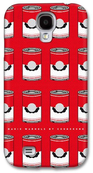 My Mario Warhols Minimal Can Poster-mario-2 Galaxy S4 Case by Chungkong Art