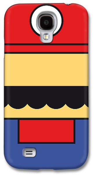 Castle Galaxy S4 Case - My Mariobros Fig 01 Minimal Poster by Chungkong Art