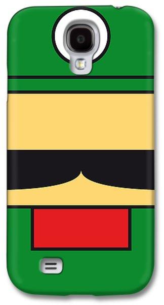 My Mariobros Fig 02 Minimal Poster Galaxy S4 Case by Chungkong Art