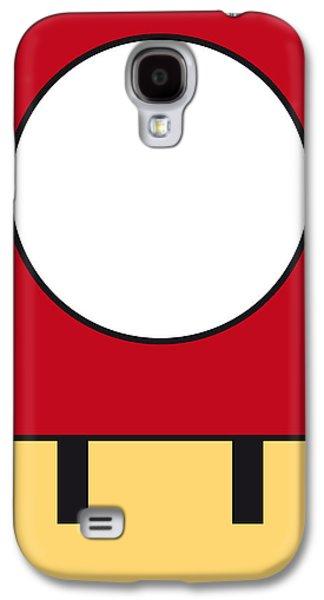 My Mariobros Fig 05a Minimal Poster Galaxy S4 Case by Chungkong Art