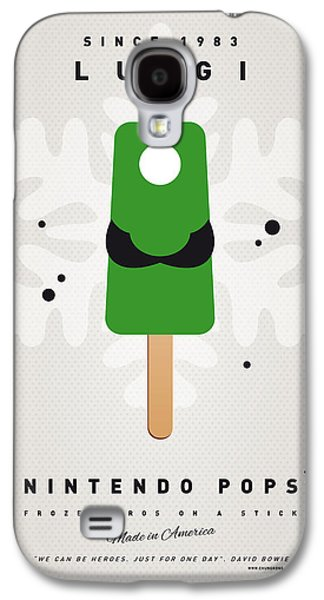 My Nintendo Ice Pop - Luigi Galaxy S4 Case