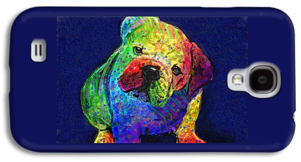 My Psychedelic Bulldog Galaxy S4 Case