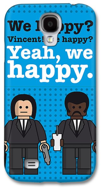 My Pulp Fiction Lego Dialogue Poster Galaxy S4 Case
