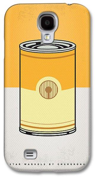 My Star Warhols 3cpo Minimal Can Poster Galaxy S4 Case