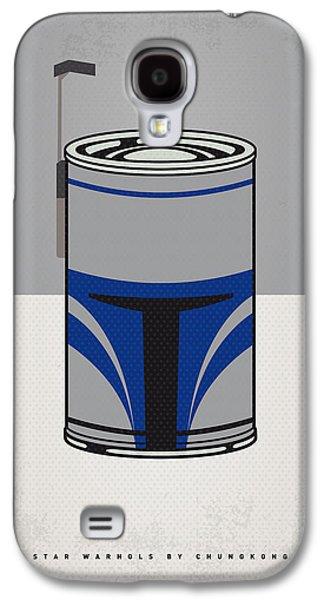 My Star Warhols Jango Fett Minimal Can Poster Galaxy S4 Case by Chungkong Art