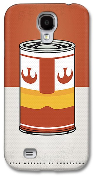 My Star Warhols Luke Skywalker Minimal Can Poster Galaxy S4 Case by Chungkong Art