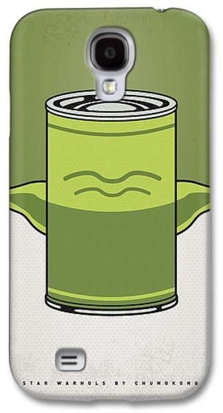 My Star Warhols Yoda Minimal Can Poster Galaxy S4 Case by Chungkong Art