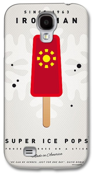 My Superhero Ice Pop - Iron Man Galaxy S4 Case by Chungkong Art