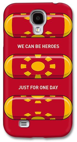 My Superhero Pills - Iron Man Galaxy S4 Case by Chungkong Art