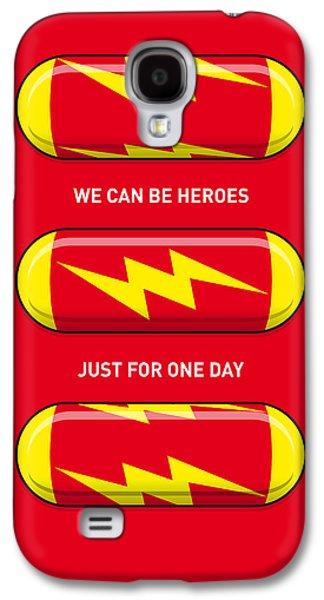 My Superhero Pills - The Flash Galaxy S4 Case by Chungkong Art