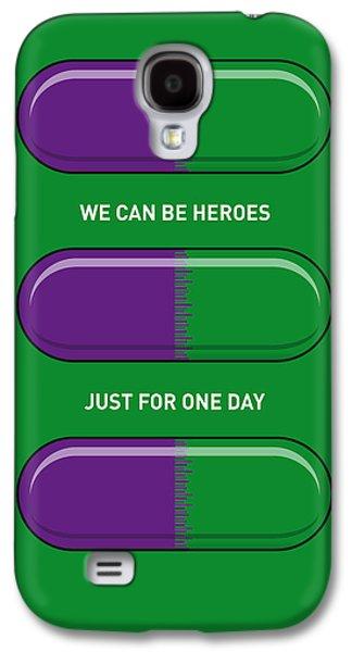 My Superhero Pills - The Hulk Galaxy S4 Case by Chungkong Art