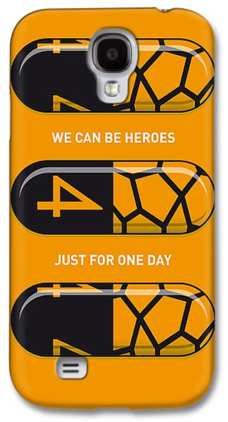 My Superhero Pills - The Thing Galaxy S4 Case by Chungkong Art