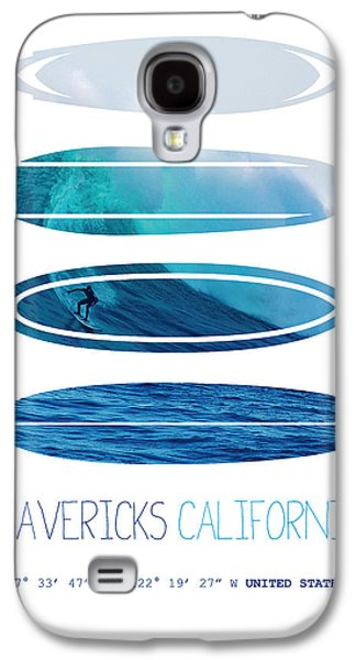 My Surfspots Poster-2-mavericks-california Galaxy S4 Case