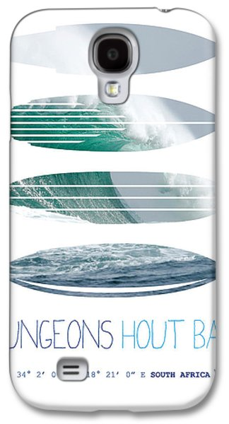 My Surfspots Poster-4-dungeons-cape-town-south-africa Galaxy S4 Case