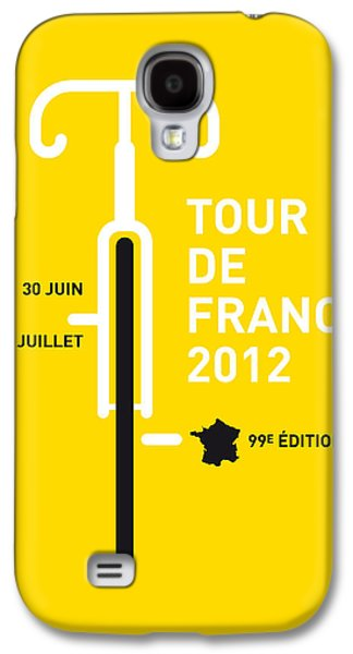 My Tour De France 2012 Minimal Poster Galaxy S4 Case by Chungkong Art