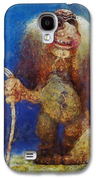 My Troll Galaxy S4 Case by Jack Zulli