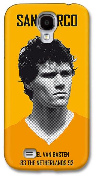My Van Basten Soccer Legend Poster Galaxy S4 Case by Chungkong Art