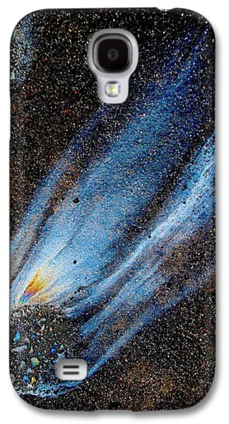 Mysterious Traveler Galaxy S4 Case by Samuel Sheats