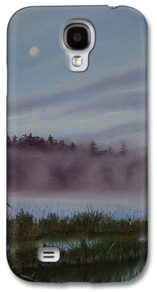 Fog Mist Pastels Galaxy S4 Cases - Mystic Morning Galaxy S4 Case by Kathy Dolan