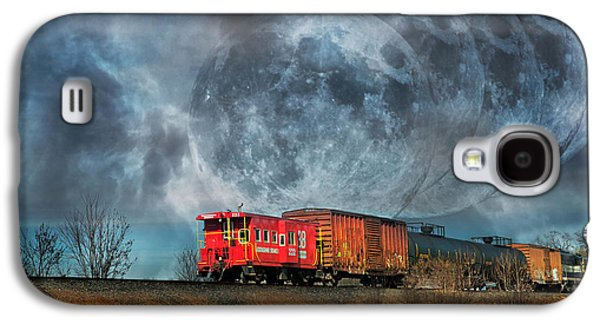 Mystic Tracking Galaxy S4 Case by Betsy Knapp