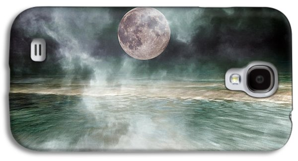 Mystical Beach Moon Galaxy S4 Case