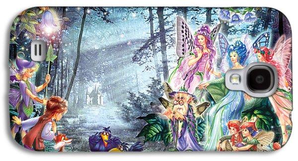 Mystical Meeting  Galaxy S4 Case by Zorina Baldescu