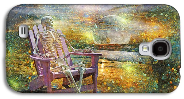 Mystical Sam On Topsail Galaxy S4 Case by Betsy Knapp
