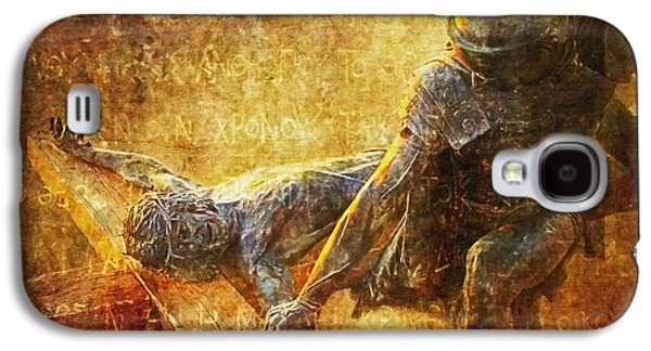 Nailed To The Cross Via Dolorosa 11 Galaxy S4 Case by Lianne Schneider
