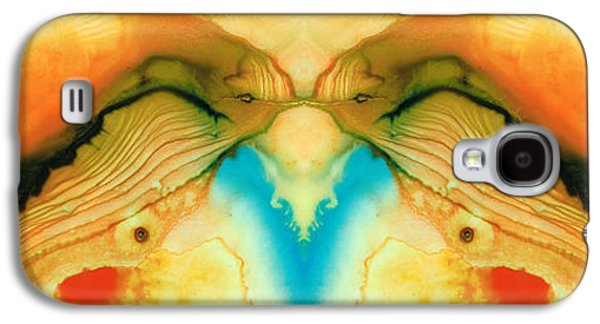 Namaste - Divine Art By Sharon Cummings Galaxy S4 Case by Sharon Cummings