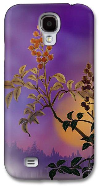 Nandina The Beautiful Galaxy S4 Case by Bedros Awak