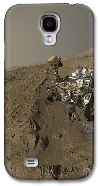 Nasas Curiosity Mars Rover On Planet Galaxy S4 Case