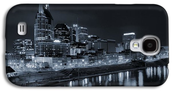 Nashville Skyline At Night Galaxy S4 Case