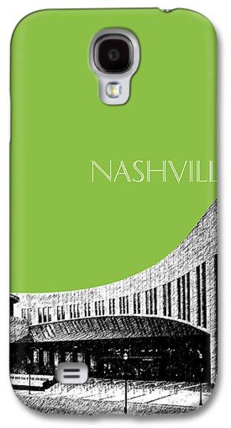 Nashville Skyline Galaxy S4 Case - Nashville Skyline Country Music Hall Of Fame - Olive by DB Artist
