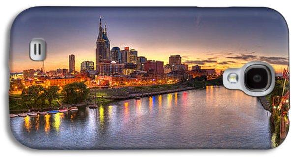 Nashville Skyline Panorama Galaxy S4 Case